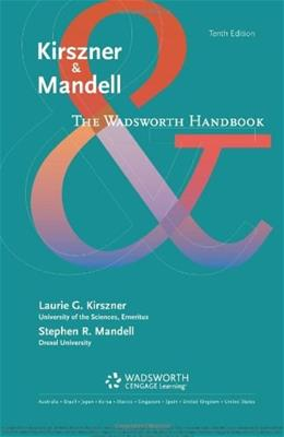 The Wadsworth Handbook 10 9781133308775