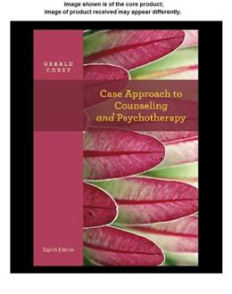 Theory and Practice  of Counseling and Psychotherapy, by Corey, DVD-ROM ONLY 9781133309130