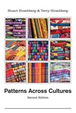 Patterns Across Cultures, by Hirschberg, 2nd Edition 9781133311072