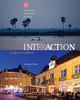 Interaction: Langue et culture (Book Only) (World Languages) 9 9781133311249