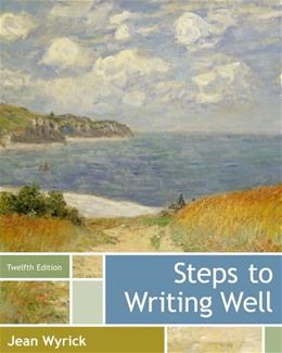 Steps to Writing Well 12 9781133311317