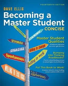 Becoming a Master Student: Concise (Textbook-specific CSFI) 14 9781133311584