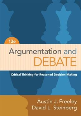 Argumentation and Debate 13 9781133311607