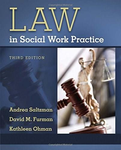 Law in Social Work Practice, by Saltzman, 3rd Edition 9781133312611