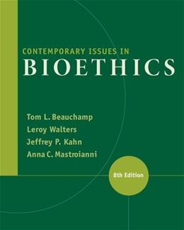 Contemporary Issues in Bioethics 8 9781133315544