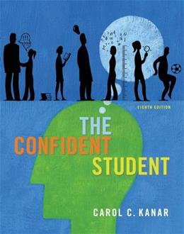 Confident Student, by Kanar, 8th Edition 9781133316473