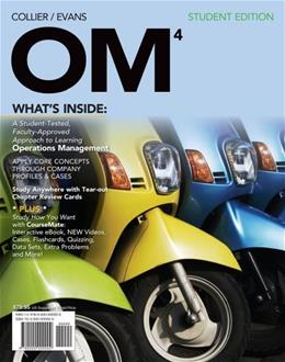OM, by Collier, 4th Edition 4 PKG 9781133372424