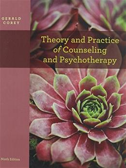 Theory and Practice of Counseling and Psychotherapy, by Barnes, 9th Edition 9 w/DVD 9781133432623