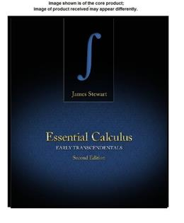 Student Solutions Manual for Stewarts Essential Calculus: Early Transcendentals, 2nd 9781133490975