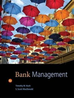 Bank Management 8 9781133494683