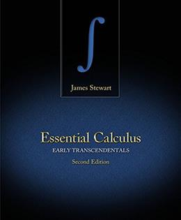 Bundle: Essential Calculus: Early Transcendentals, 2nd + WebAssign Printed Access Card for Stewarts Essential Calculus: Early Transcendentals, 2nd Edition, Multi-Term 2 PKG 9781133540786