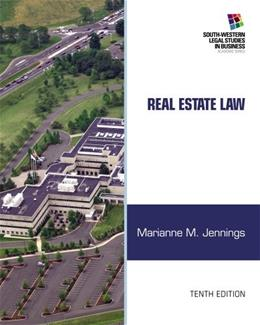 Real Estate Law (South-Western Legal Studies in Business Academic) 10 9781133586555