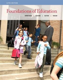 Foundations of Education 12 9781133589853