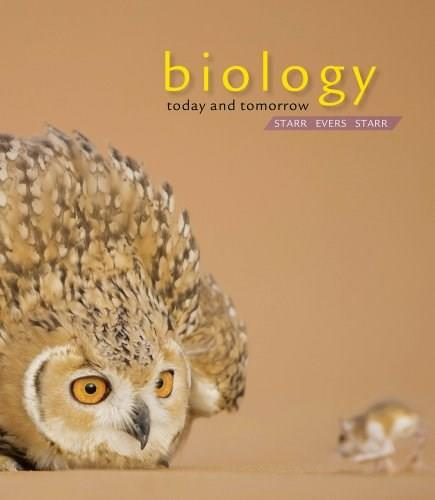 Biology: Today and Tomorrow with Physiology, by Starr 4 9781133590835