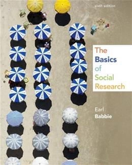 Basics of Social Research 6 9781133594147