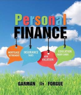 Personal Finance 12 9781133595830