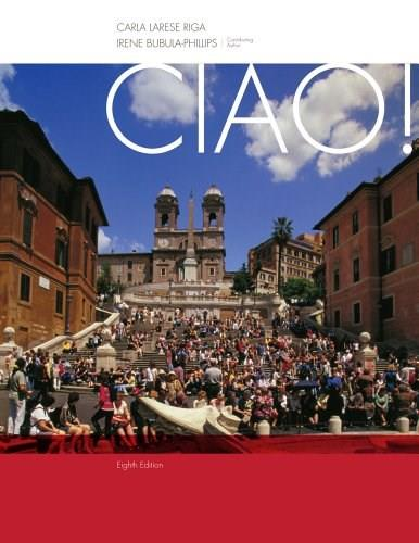 Ciao! (World Languages) 8 9781133604228