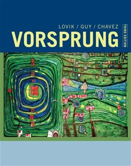 Vorsprung: A Communicative Introduction to German Language and Culture (World Languages) 3 9781133607359