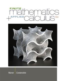 Finite Math and Applied Calculus 6 9781133607700