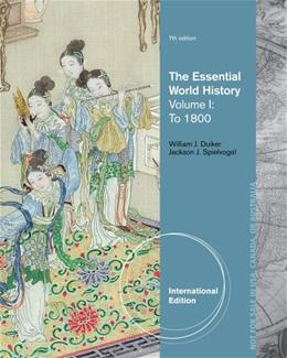 The Essential World History, Volume I: To 1800 7 9781133607724