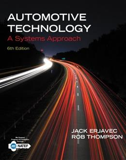 Automotive Technology: A Systems Approach 6 9781133612315