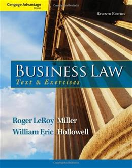 Business Law: Text and Exercises 7 9781133625957