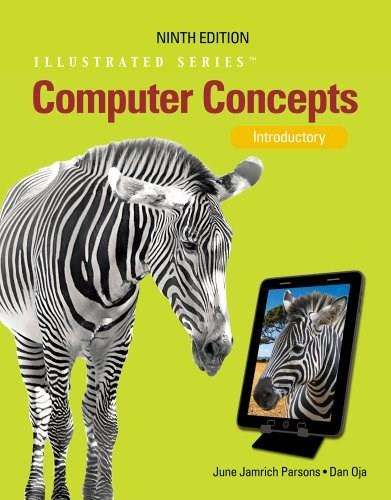 Computer Concepts: Illustrated Introductory 9 9781133626169