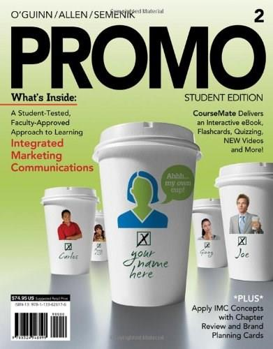 PROMO2 (with CourseMate, 1 term (6 months) Printed Access Card) (Engaging 4LTR Press Titles in Marketing) 2 PKG 9781133626176