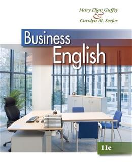 Business English (with Student Premium Website, 1 term (6 months) Printed Access Card) 11 PKG 9781133627500