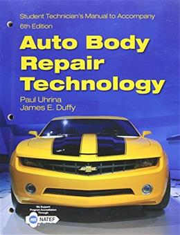 Tech Manual for Duffys Auto Body Repair Technology, by Uhrina, 6th Edition 9781133702863