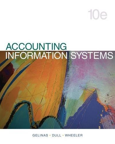 Accounting Information Systems 10 9781133935940