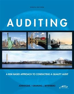 Auditing: A Risk-Based Approach to Conducting a Quality Audit 9 PKG 9781133939153
