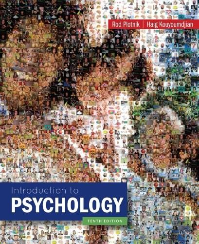 Introduction to Psychology 10 9781133939535
