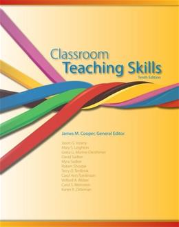 Cengage Advantage Books: Classroom Teaching Skills, by Cooper, 10th Edition 9781133942931