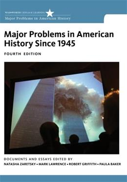 Major Problems in American History Since 1945 9781133944140