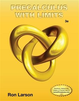 Precalculus with Limits 3 9781133947202