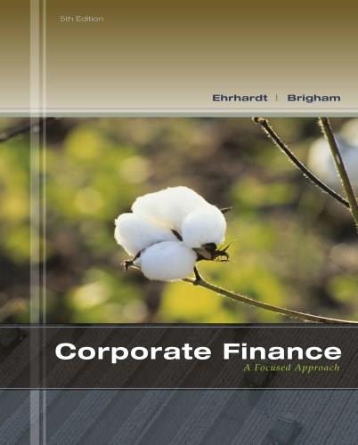 Corporate Finance: A Focused Approach (with Thomson ONE - Business School Edition 6-Month Printed Access Card) (Finance Titles in the Brigham Family) 5 PKG 9781133947530