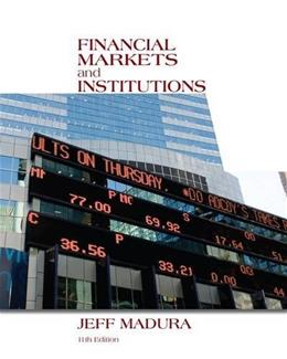 Financial Markets and Institutions (with Stock Trak Coupon) 11 PKG 9781133947875