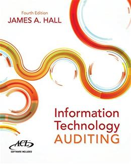Information Technology Auditing 4 9781133949886