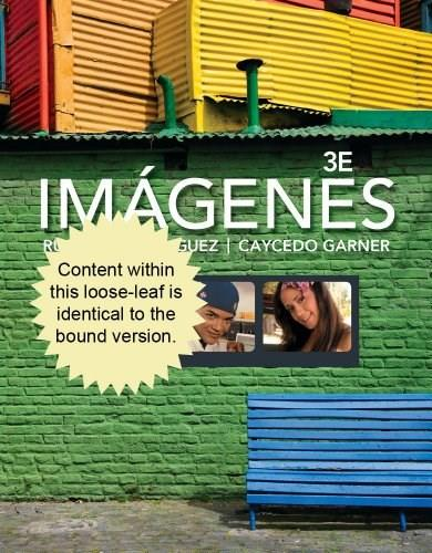Imágenes: An Introduction to Spanish Language and Cultures, by Rusch, 3rd Edition 9781133952220
