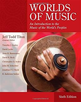 Worlds of Music: An Introduction to the Music of the World