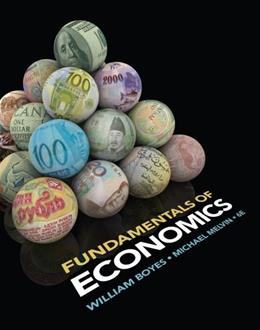 Fundamentals of Economics, by Boyes, 6th Edition 9781133956105