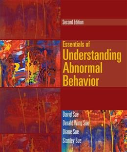 Essentials of Understanding Abnormal Behavior (Cengage Advantage Books) 2 9781133956358