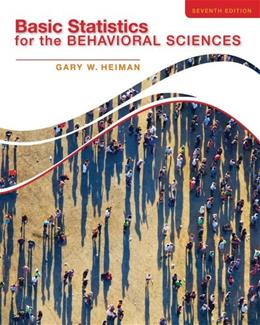 Basic Statistics for the Behavioral Sciences 7 9781133956525