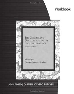 Origins and Development of the English Language, by Alego, 7th Edition, Workbook 9781133957546