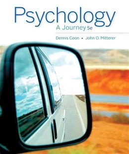 Psychology: A Journey 5 9781133957829