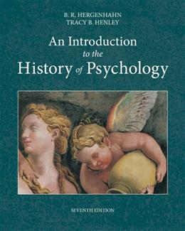 An Introduction to the History of Psychology 7 9781133958093