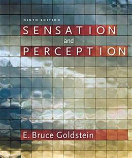 Sensation & Perception (Book Only) 9 9781133958475