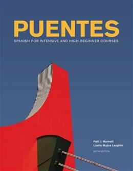 Puentes, by Marinelli, 6th Edition 6 w/CD 9781133958789
