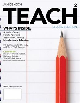 TEACH, by Koch, 2nd Edition 2 PKG 9781133963394